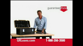 Guaranteed Rate TV Spot, 'Tools' Featuring Ty Pennington
