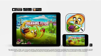 Adventure Time Treasure Fetch App TV Spot, 'What you Journey Through'