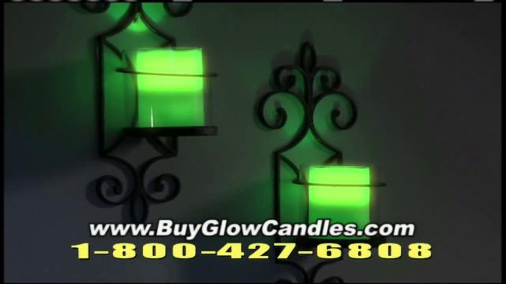 Glow Candles TV Commercial, 'The Warm Glow of Candles ...