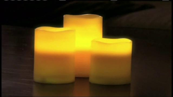 Glow Candles TV Spot, 'The Warm Glow of Candles' - Thumbnail 1