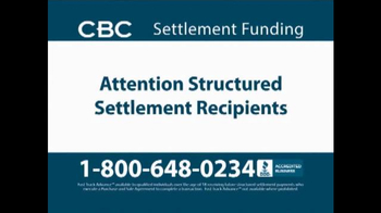 CBC Settlement Funding TV Spot, 'Receiving Future or Annuity Payments?' - Thumbnail 1