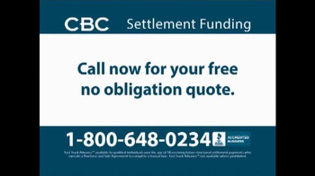CBC Settlement Funding TV Spot, 'Receiving Future or Annuity Payments?' - Thumbnail 9