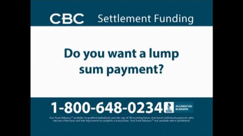 CBC Settlement Funding TV Spot, 'Receiving Future or Annuity Payments?' - Thumbnail 3