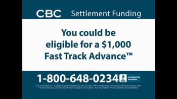 CBC Settlement Funding TV Spot, 'Receiving Future or Annuity Payments?'