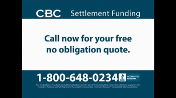 CBC Settlement Funding TV Spot, 'Receiving Future or Annuity Payments?' - Thumbnail 8