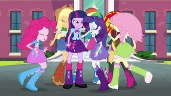 My Little Pony Equestria Girls: Rainbow Rocks Blu-ray & DVD TV Spot - Thumbnail 4