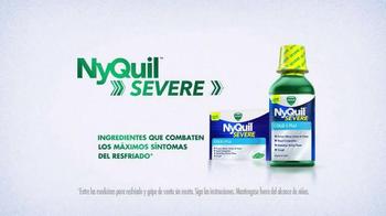 Vicks NyQuil Severe TV Spot, 'Combate Los Síntomas Más Difíciles' [Spanish] - Thumbnail 6