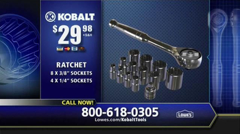 Kobalt Ratchet TV Spot, 'Tackle the Hard Jobs' - Thumbnail 6