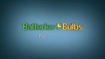 Batteries Plus Bulbs TV Spot, 'Trust The Plus' - Thumbnail 9