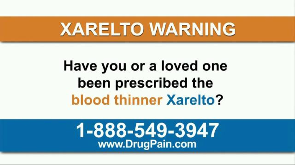 AkinMears TV Commercial, 'Xarelto'