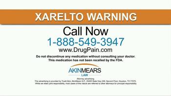 AkinMears TV Spot, 'Xarelto' - Thumbnail 9