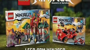 LEGO Battle for Ninjago City & Ninja Charger TV Spot, 'Lego Ninjago 2014' - Thumbnail 10