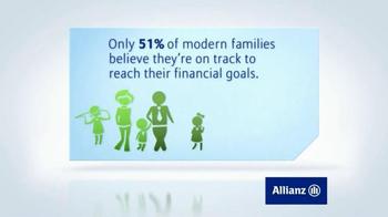 Allianz Corporation TV Spot, 'Family Financial Goals' - Thumbnail 4