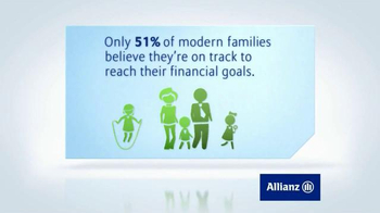 Allianz Corporation TV Spot, 'Family Financial Goals' - Thumbnail 5