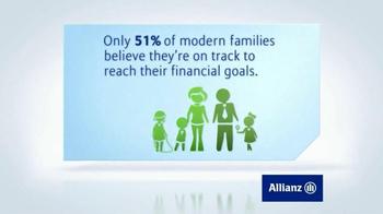 Allianz Corporation TV Spot, 'Family Financial Goals' - Thumbnail 6