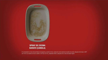 Pam Cooking Spray TV Spot, 'Residuo' [Spanish] - Thumbnail 8