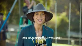 Mazda TV Spot, 'Drive 4 Good' Featuring Minnie Driver