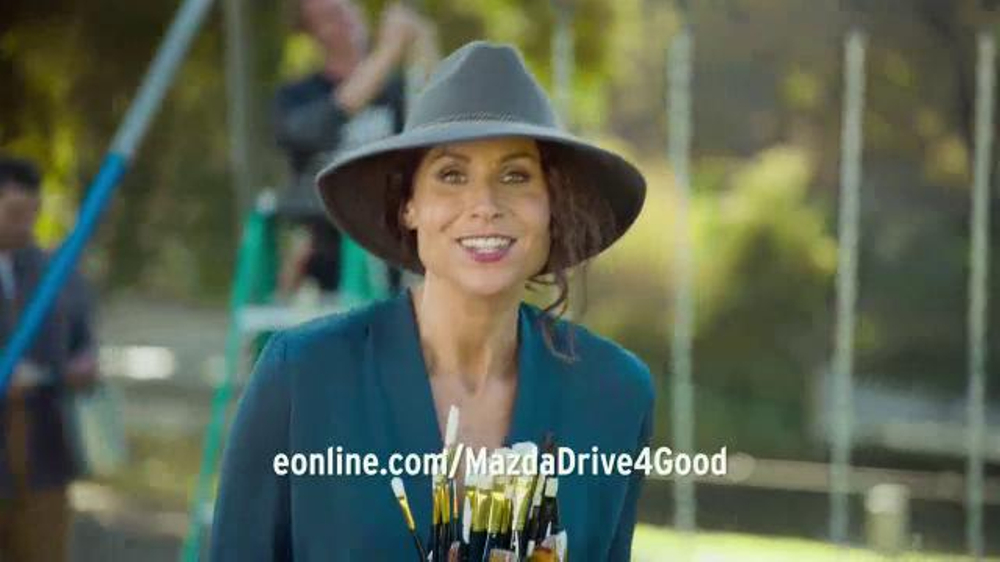 Mazda TV Commercial, 'Drive 4 Good' Featuring Minnie Driver