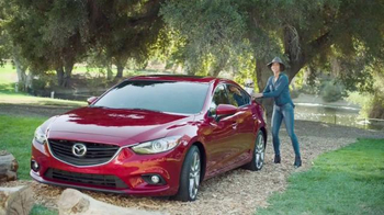 Mazda TV Spot, 'Drive 4 Good' Featuring Minnie Driver - Thumbnail 1
