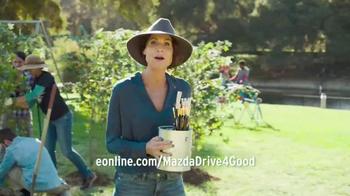 Mazda TV Spot, 'Drive 4 Good' Featuring Minnie Driver - Thumbnail 6