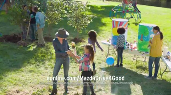 Mazda TV Spot, 'Drive 4 Good' Featuring Minnie Driver - Thumbnail 9