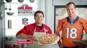 Papa John's Fritos Chili Pizza TV Spot, 'Halloween' Feat. Peyton Manning - 162 commercial airings