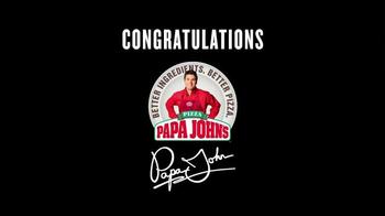 Papa John's TV Spot, 'Congratulations, Peyton' - Thumbnail 10
