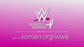 Susan G. Komen for the Cure TV Spot, 'WWE' Ft. John Cena - Thumbnail 9
