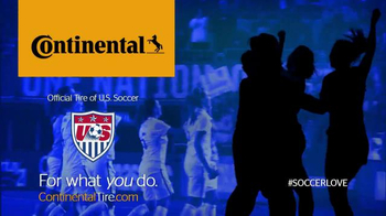 Continental Tire TV Spot, 'US Women's Soccer' - Thumbnail 10