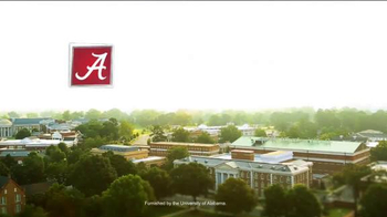 University of Alabama TV Spot, 'Qualities' - Thumbnail 7