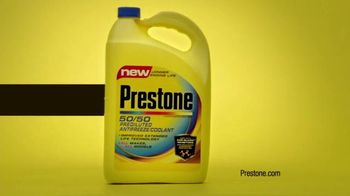 Prestone 50/50 Prediluted Antifreeze Coolant TV Spot, 'Antifreeze is Sexy'