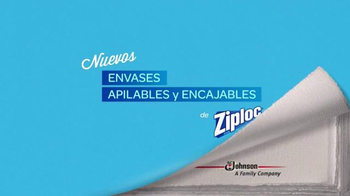 Ziploc Stackable Containers TV Spot, 'Lecciones: Avalancha' [Spanish] - Thumbnail 10
