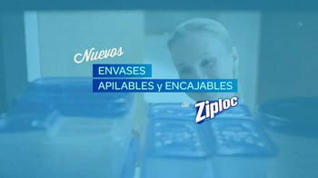 Ziploc Stackable Containers TV Spot, 'Lecciones: Avalancha' [Spanish] - Thumbnail 9