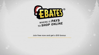 Ebates TV Spot, 'Christmas Shopping with Ebates' - Thumbnail 10