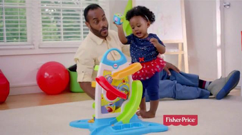 Fisher Price Roller Blocks Playwall TV Spot, 'Slide, Spin, Stack' - Thumbnail 1