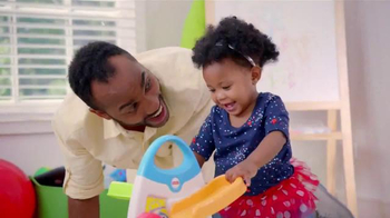 Fisher Price Roller Blocks Playwall TV Spot, 'Slide, Spin, Stack' - Thumbnail 3