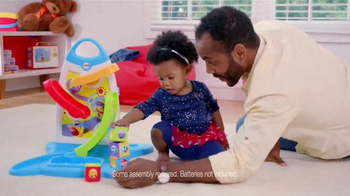 Fisher Price Roller Blocks Playwall TV Spot, 'Slide, Spin, Stack' - Thumbnail 6
