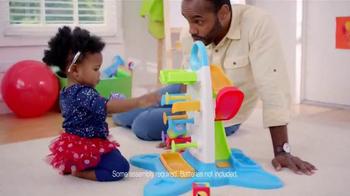 Fisher Price Roller Blocks Playwall TV Spot, 'Slide, Spin, Stack' - Thumbnail 7
