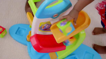 Fisher Price Roller Blocks Playwall TV Spot, 'Slide, Spin, Stack' - Thumbnail 8