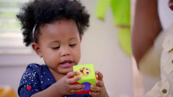 Fisher Price Roller Blocks Playwall TV Spot, 'Slide, Spin, Stack' - Thumbnail 9