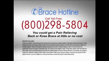 The Brace Hotline TV Spot, 'Severe Back and Knee Pain' - Thumbnail 10
