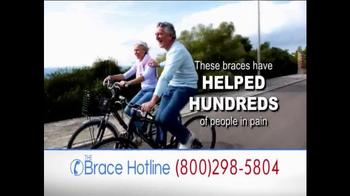 The Brace Hotline TV Spot, 'Severe Back and Knee Pain' - Thumbnail 4