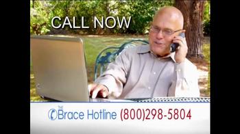 The Brace Hotline TV Spot, 'Severe Back and Knee Pain' - Thumbnail 5