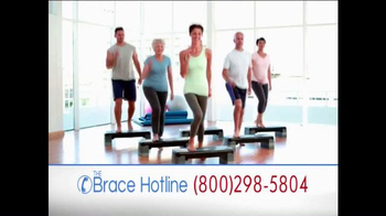 The Brace Hotline TV Spot, 'Severe Back and Knee Pain' - Thumbnail 9
