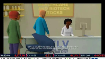 Select Sector SPDRs TV Spot, 'Healthcare Stocks' - Thumbnail 3