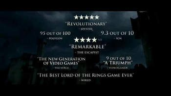 Middle-Earth: Shadow of Mordor TV Spot, 'Leave Your Mark' - Thumbnail 3