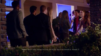 Smirnoff TV Spot, 'The Bouncer' Featuring Adam Scott and Alison Brie - Thumbnail 9