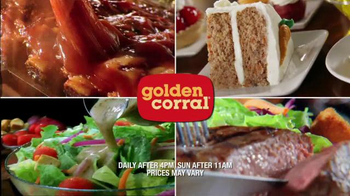 Golden Corral TV Spot, 'Bigger & Better Dinner Buffet' - Thumbnail 10