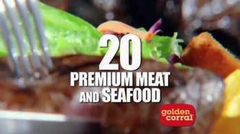 Golden Corral TV Spot, 'Bigger & Better Dinner Buffet' - Thumbnail 4
