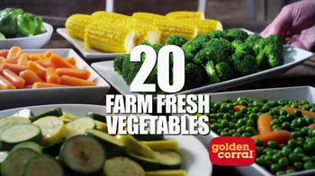 Golden Corral TV Spot, 'Bigger & Better Dinner Buffet' - Thumbnail 5